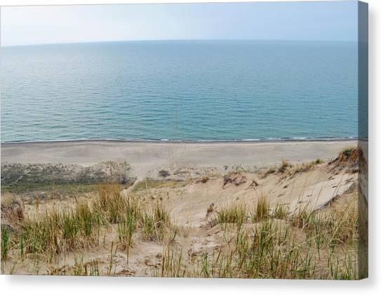 Indiana Dunes National Lakeshore Evening Canvas Print