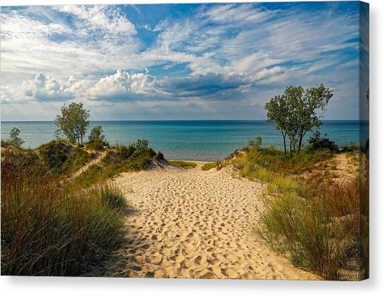 Canvas Print - Indiana Dunes State Park by Pixabay