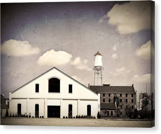 Indiana Warehouse Canvas Print