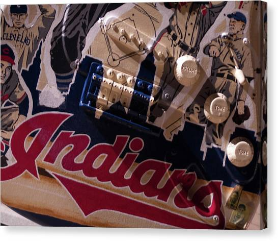 Indians Rock Canvas Print