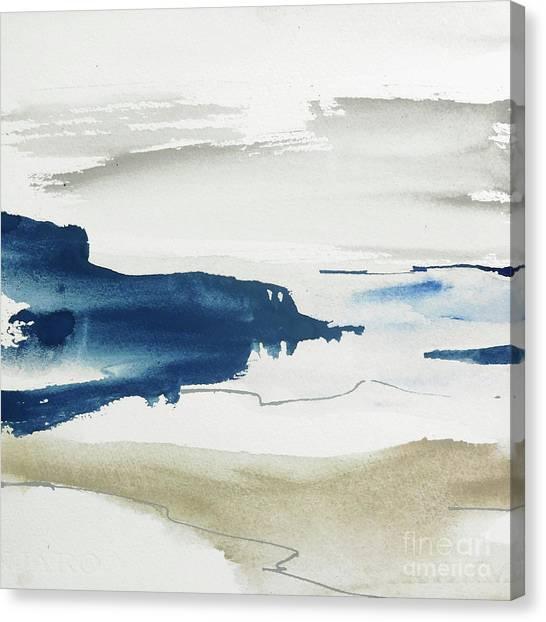 Canvas Print - Indigo Jetty I by Chris Paschke