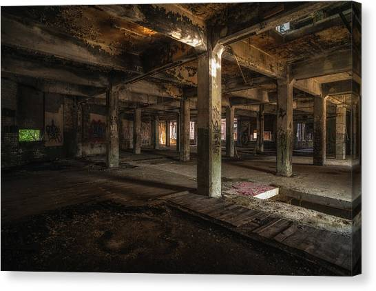 Industrial Catacombs Canvas Print