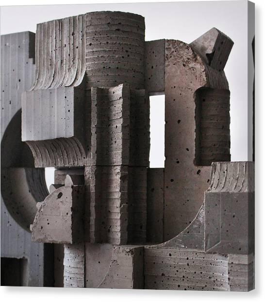 Industrial Landscape 2 Canvas Print by David Umemoto