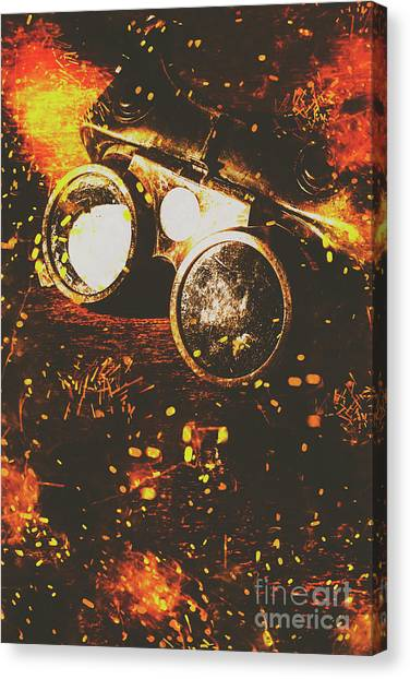 Equipment Canvas Print - Industry Of Artistic Creations by Jorgo Photography - Wall Art Gallery