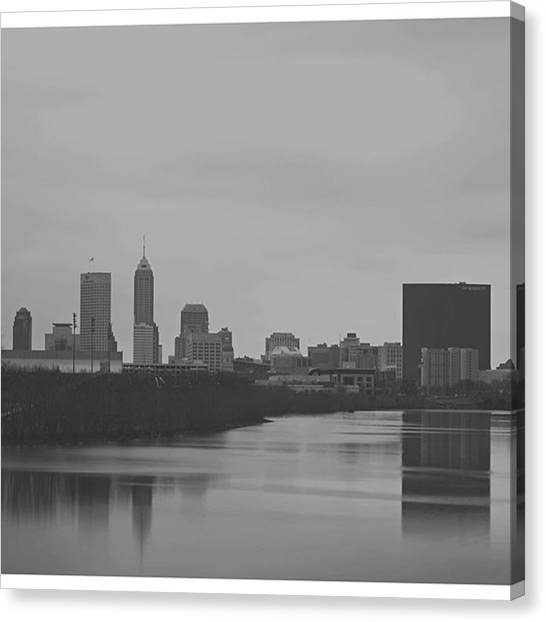 Indiana Canvas Print - @indyrealestateexperts @indystatefair by David Haskett II