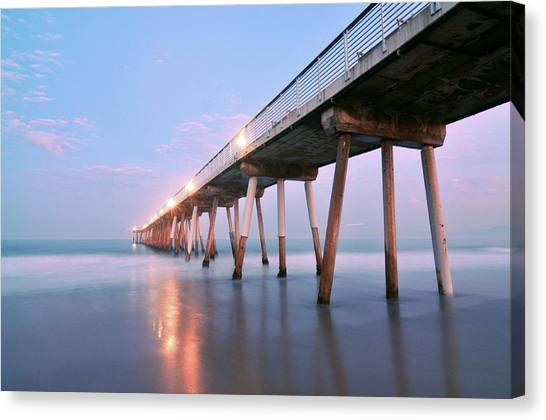 Infinite Bridge Canvas Print