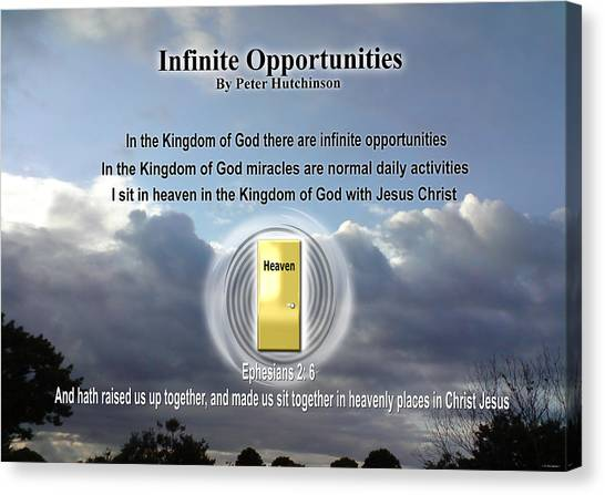 Infinite Opportunities Canvas Print