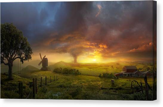 Landscape Canvas Print - Infinite Oz by Philip Straub