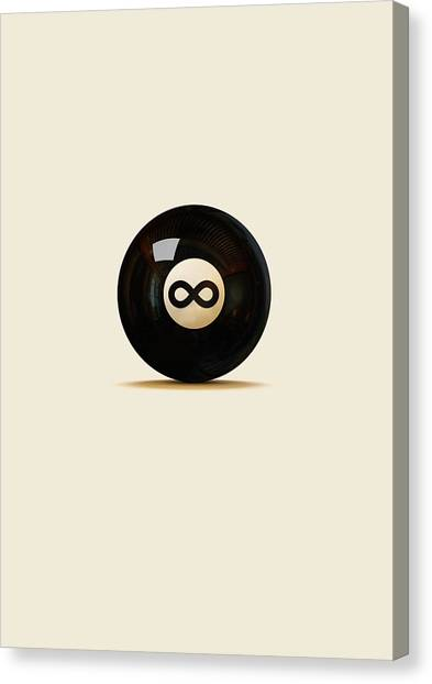 Media Canvas Print - Infinity Ball by Nicholas Ely