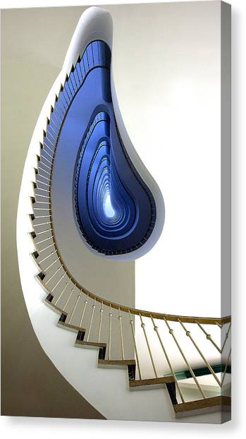 Stairs Canvas Print - Infinity Steps by Martin Widlund