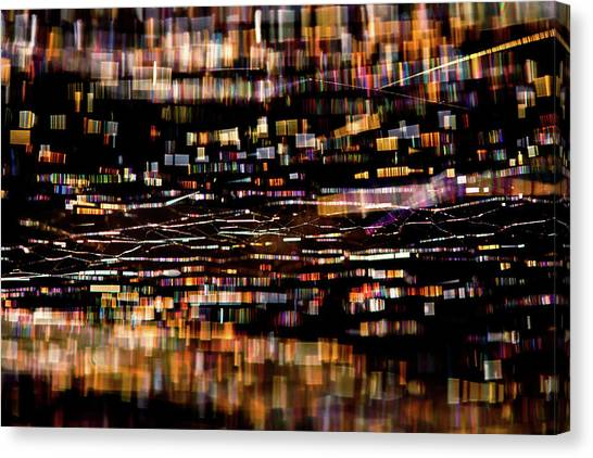 Spider Web Canvas Print - Infinity - The Mini Metropole by Roeselien Raimond