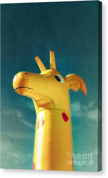 Inflatable Canvas Print - Inflatable Toy by Carlos Caetano