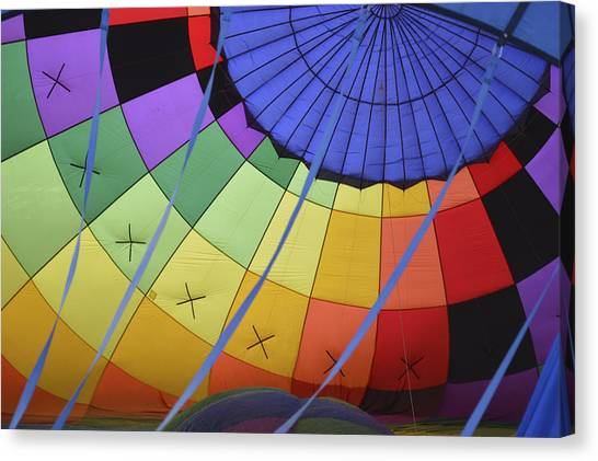Inflation Time Canvas Print