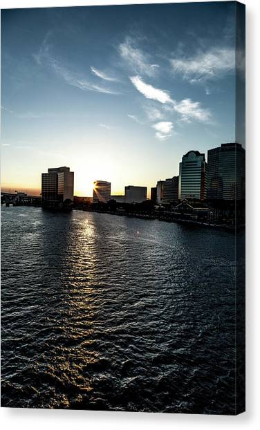 Influential Light Canvas Print