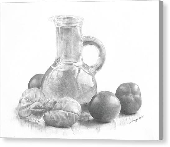 Ingredients Canvas Print