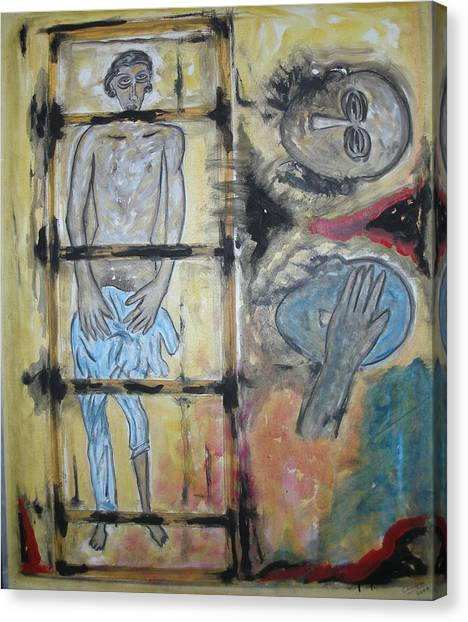 Inhumanity Canvas Print by Narayanan Ramachandran