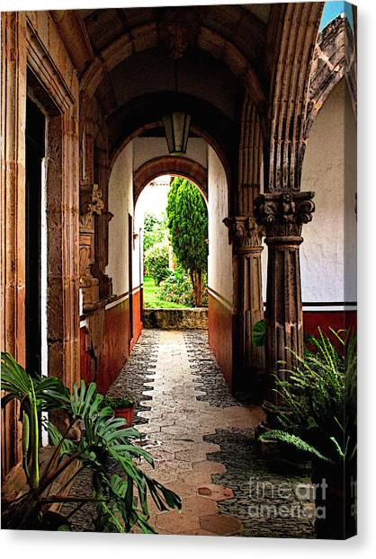 Inner Garden Canvas Print by Mexicolors Art Photography