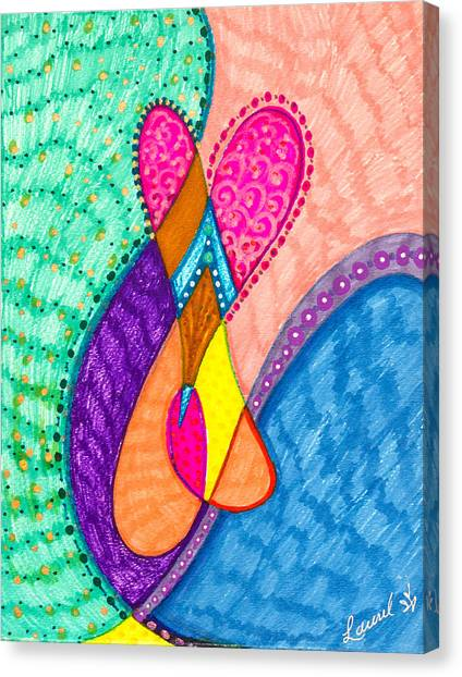 Inner Heart - V Canvas Print