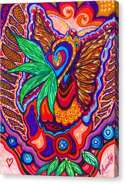 Inner Heart - Viii Canvas Print
