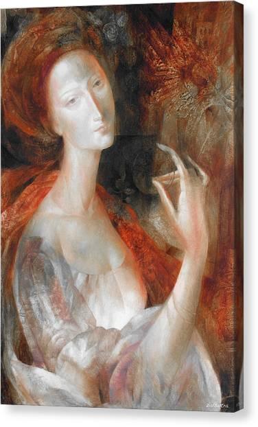 Inner Light Canvas Print by - Ziusutra