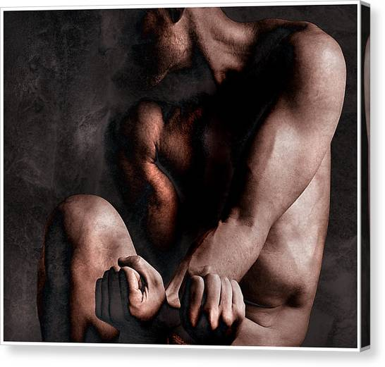 Inner Struggle Canvas Print by Geoff Ault