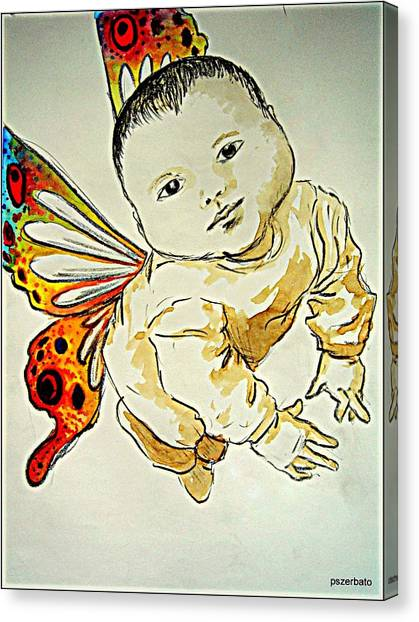 Does No Harm Canvas Print - Innocence by Paulo Zerbato