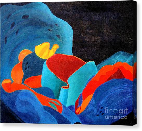 Inorganic Incandescence Canvas Print