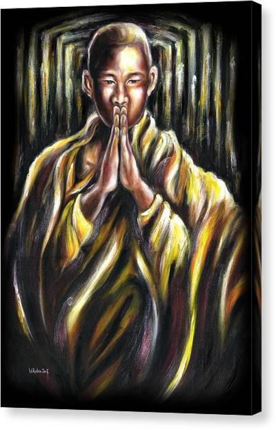 Inori Prayer Canvas Print