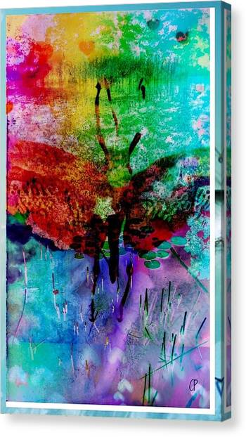 Insects And Incense Canvas Print