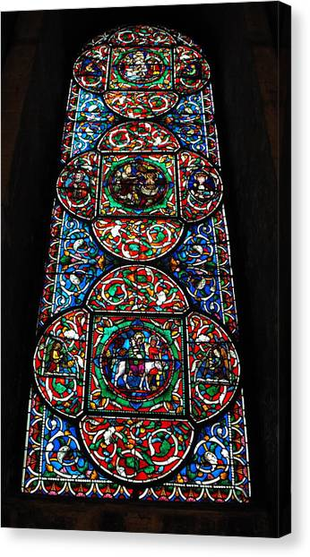 Inside Canterbury Cathedral Canvas Print