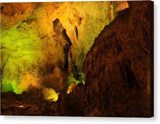 Carlsbad Caverns Canvas Print - Inside Carlsbad by Jeff Swan