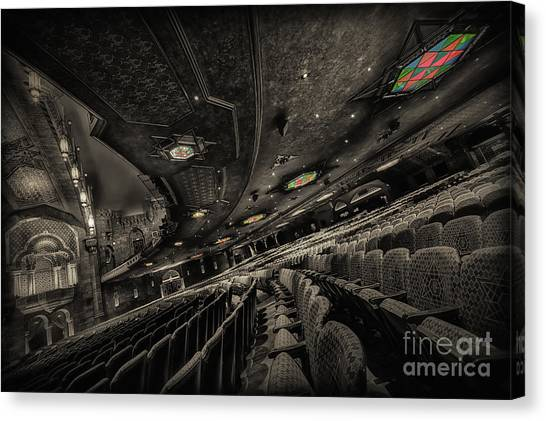 Inside Fox Theater Canvas Print
