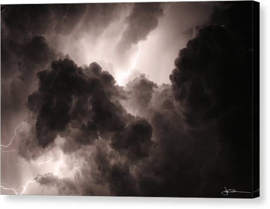 Inside The Storm Canvas Print
