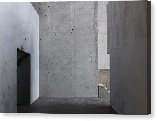 Inside The Walls 1 Canvas Print by David Umemoto