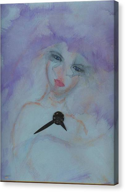 Insomnia Canvas Print by Cathy Minerva