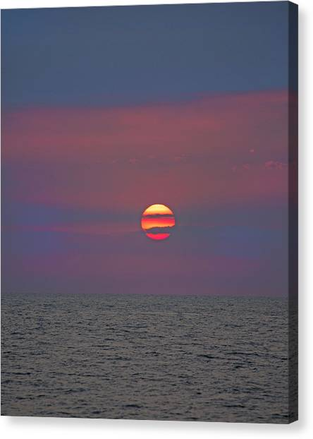 Costa Rican Canvas Print - Inspiring Glow by Betsy Knapp