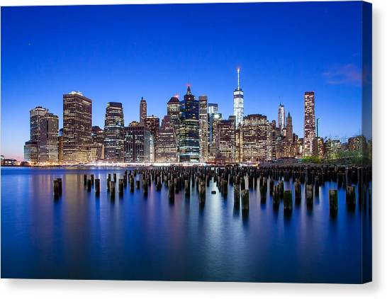 New York Skyline Canvas Print - Inspiring Stories by Az Jackson