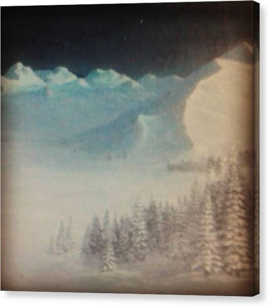 Romanticism Canvas Print - #instagood #painting#instasize #artist by Joachim Ingulstad