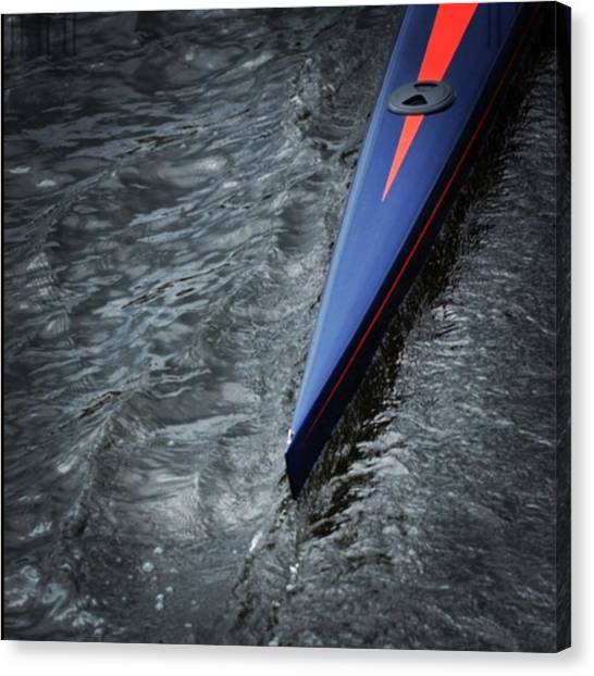 Head Canvas Print - White Scull 35 At The Regatta by Jason Freedman