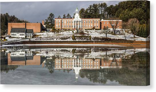 Institute Relections Canvas Print