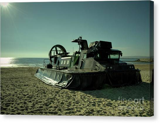 Royal Marines Canvas Print - Instow Craft  by Rob Hawkins