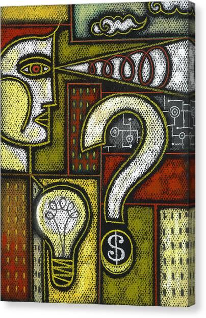 Improve Canvas Print - Intelligence by Leon Zernitsky