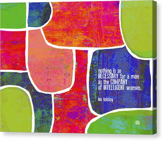 Intelligent Women Canvas Print
