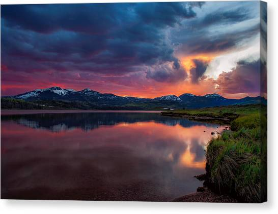 Intense Canvas Print