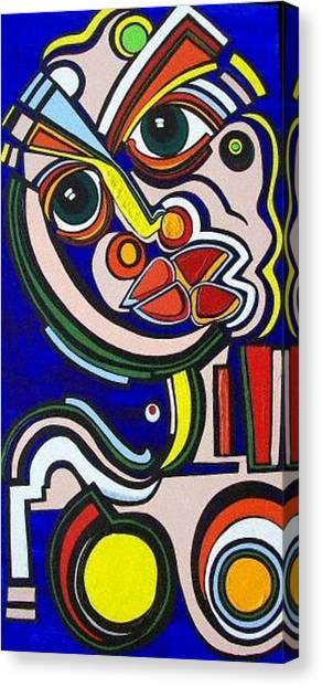 Intensity Canvas Print by Valerie Wolf