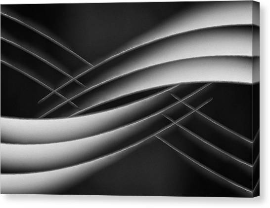 Paper Canvas Print - Interlaced by Jutta Kerber