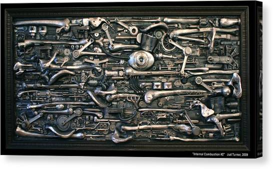 Internal Combustion 2 Canvas Print by Jud  Turner