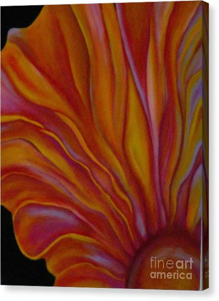 Internal Floral Canvas Print by Sidra Myers