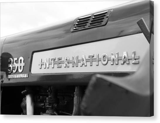 International 350 Canvas Print