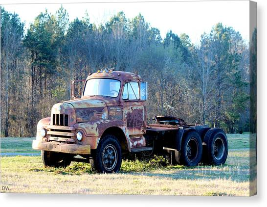 International Harvester R200 Series Truck Canvas Print